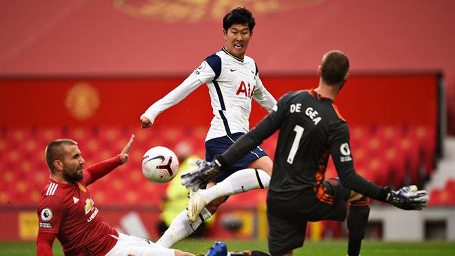 MU 1-6 Tottenham: Martial quá thơ ngây, MU bị Kane vs Son hủy diệt