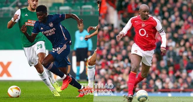 Kết quả Cúp C2, Rapid Vienna vs Arsenal, Partey được ví với Patrick Vieira,  Kết quả Arsenal, Thomas Partey, Partey ra mắt, Arsenal, Pháo thủ, chuyển nhượng Arsenal, kqbd