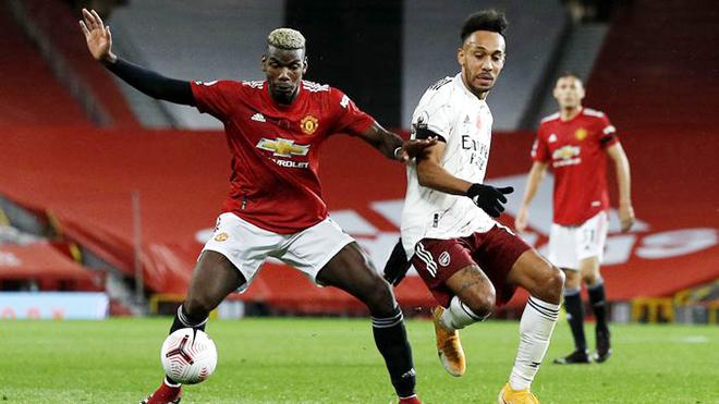MU 0-1 Arsenal: Pogba hóa tội đồ, Arsenal dứt mạch không thắng ở Old Trafford