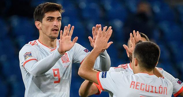 Ket qua bong da, Thụy Sĩ vs Tây Ban Nha, UEFA Nations League, Sergio Ramos, Kqbd, Ramos đá hỏng phạt đền, kết quả Thụy Sĩ vs Tây Ban Nha, Tây Ban Nha đấu với Thụy Sĩ