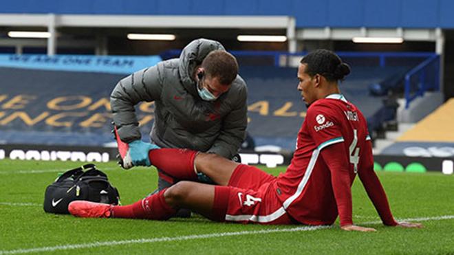 Liverpool: Klopp tiết lộ mới nhất về mức độ chấn thương của Van Dijk