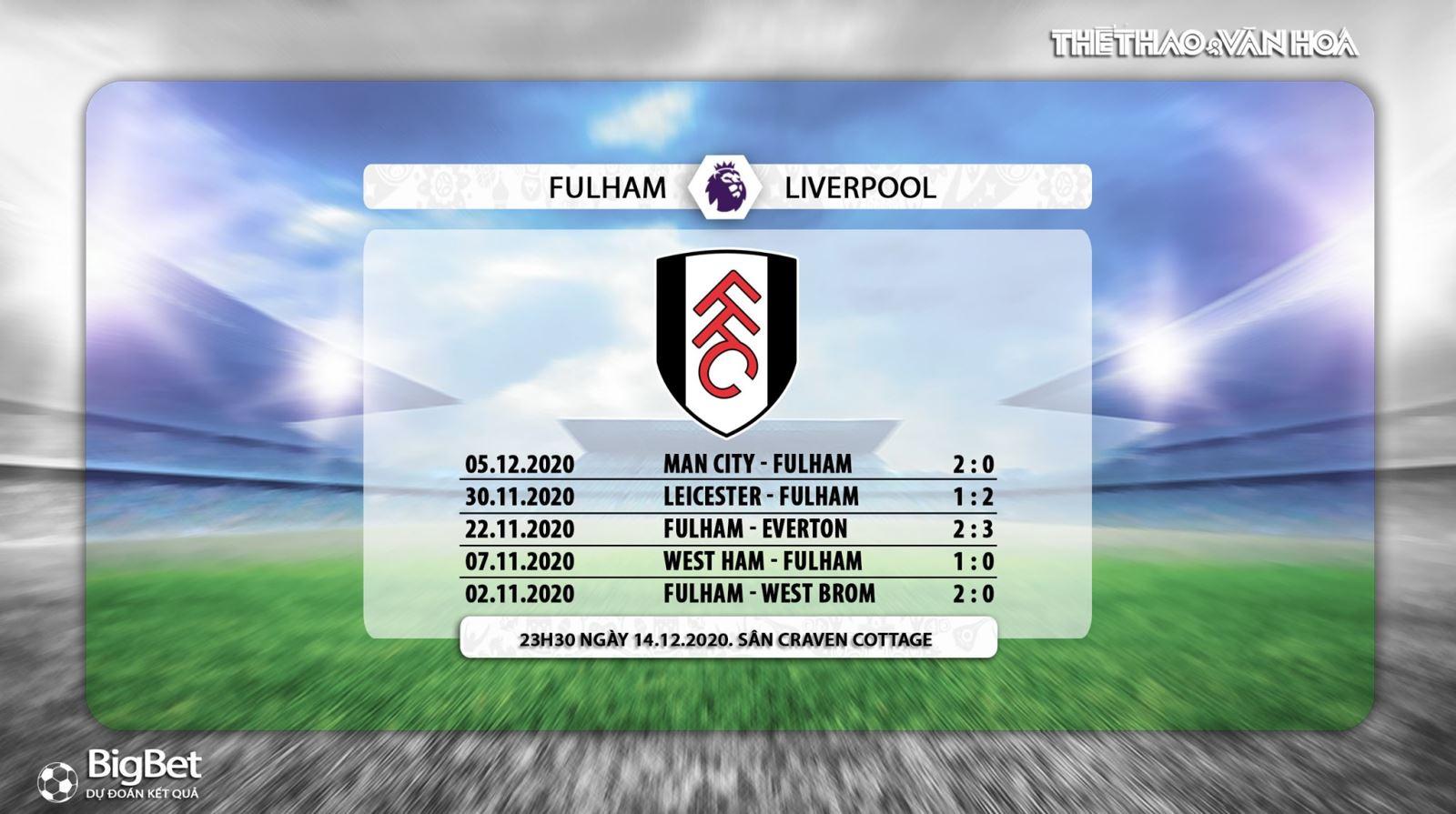 Trực tiếp Fulham vs Liverpool, Truc tiep bong da, K+PM, Ngoại hạng Anh vòng 12, xem bóng đá trực tuyến Fulham đấu với Liverpool, trực tiếp bóng đá hôm nay, ngoại hạng Anh