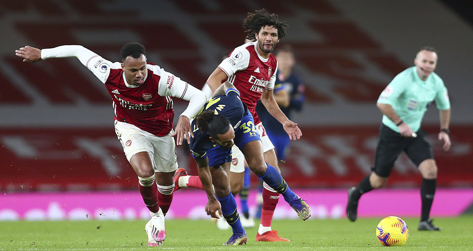 Ket qua bong da, Arsenal vs Southampton, Kết quả bóng đá Anh, BXH bóng đá Anh, Kết quả Arsenal vs Southampton, Arsenal đấu với Southampton, Aubameyang, Arsenal, BXH Anh