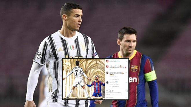 Messi lại bị chị gái Ronaldo chế giễu trên mạng xã hội