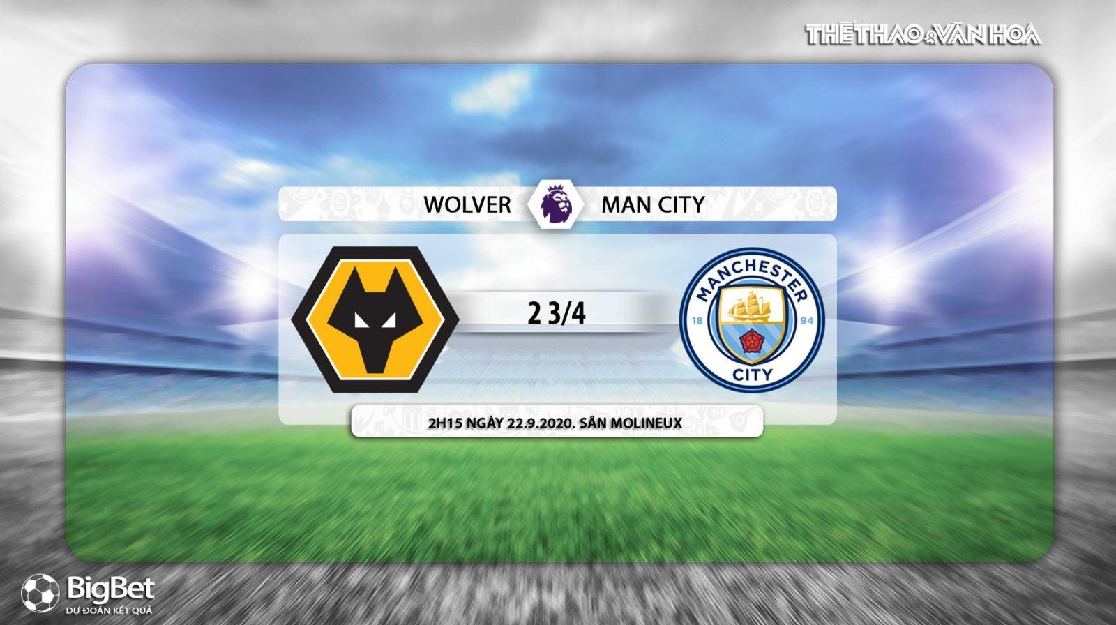Keo nha cai, Kèo nhà cái, Wolves vs Man City, Vòng 2 Ngoại hạng Anh, Trực tiếp bóng đá, K+PM, trực tiếp Ngoại hạng Anh vòng 2, soi kèo Man City đấu với Wolves