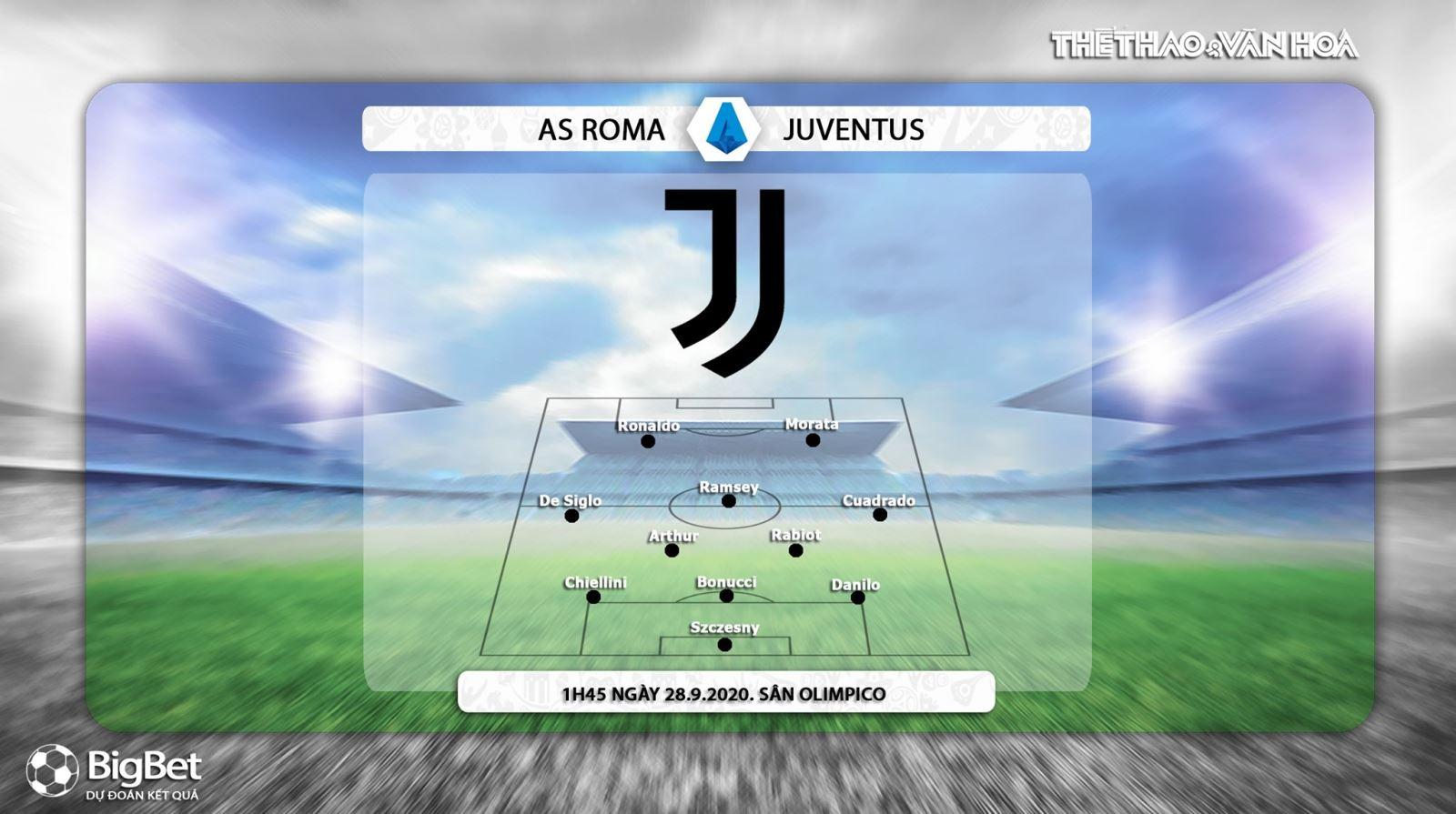 Keo nha cai, kèo nhà cái, AS Roma vs Juventus, Vòng 2 Serie A, Trực tiếp Truyền hình FPT, Trực tiếp Serie A vòng 2, Soi kèo Roma đấu với Juventus, Kèo Roma, Kèo Juventus