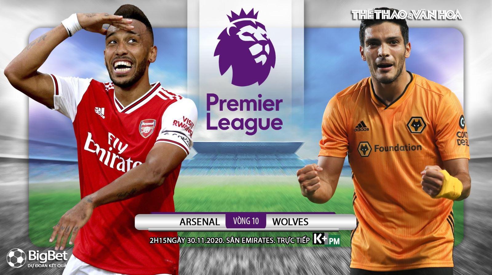 Soi kèo nhà cái Arsenal vs Wolves. Trực tiếp bóng đá vòng 10 Giải ngoại hạng Anh