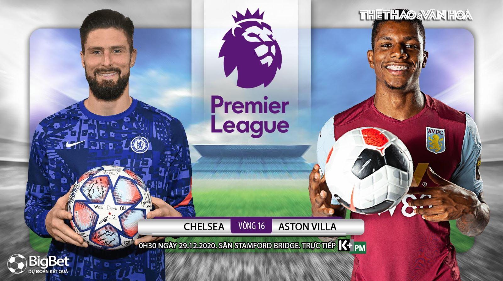 Soi kèo nhà cái Chelsea vs Aston Villa. Trực tiếp bóng đá Anh hôm nay