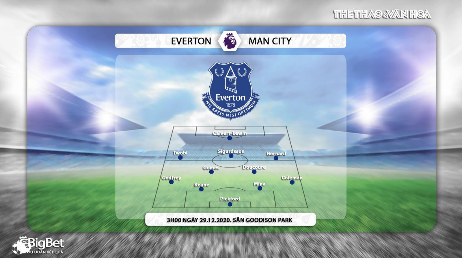 Keo nha cai, Kèo nhà cái, Everton vs Man City, Trực tiếp bóng đá Anh hôm nay, K+, K+PM, trực tiếp bóng đá Everton đấu với Man City, trực tiếp Ngoại hạng Anh