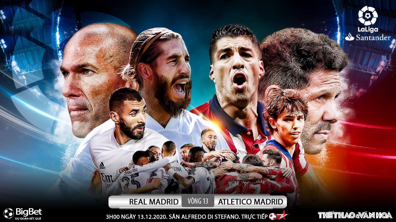 Soi kèo nhà cái Real Madrid vs Atletico Madrid. Vòng 13 Giải VĐQG Tây Ban Nha La Liga