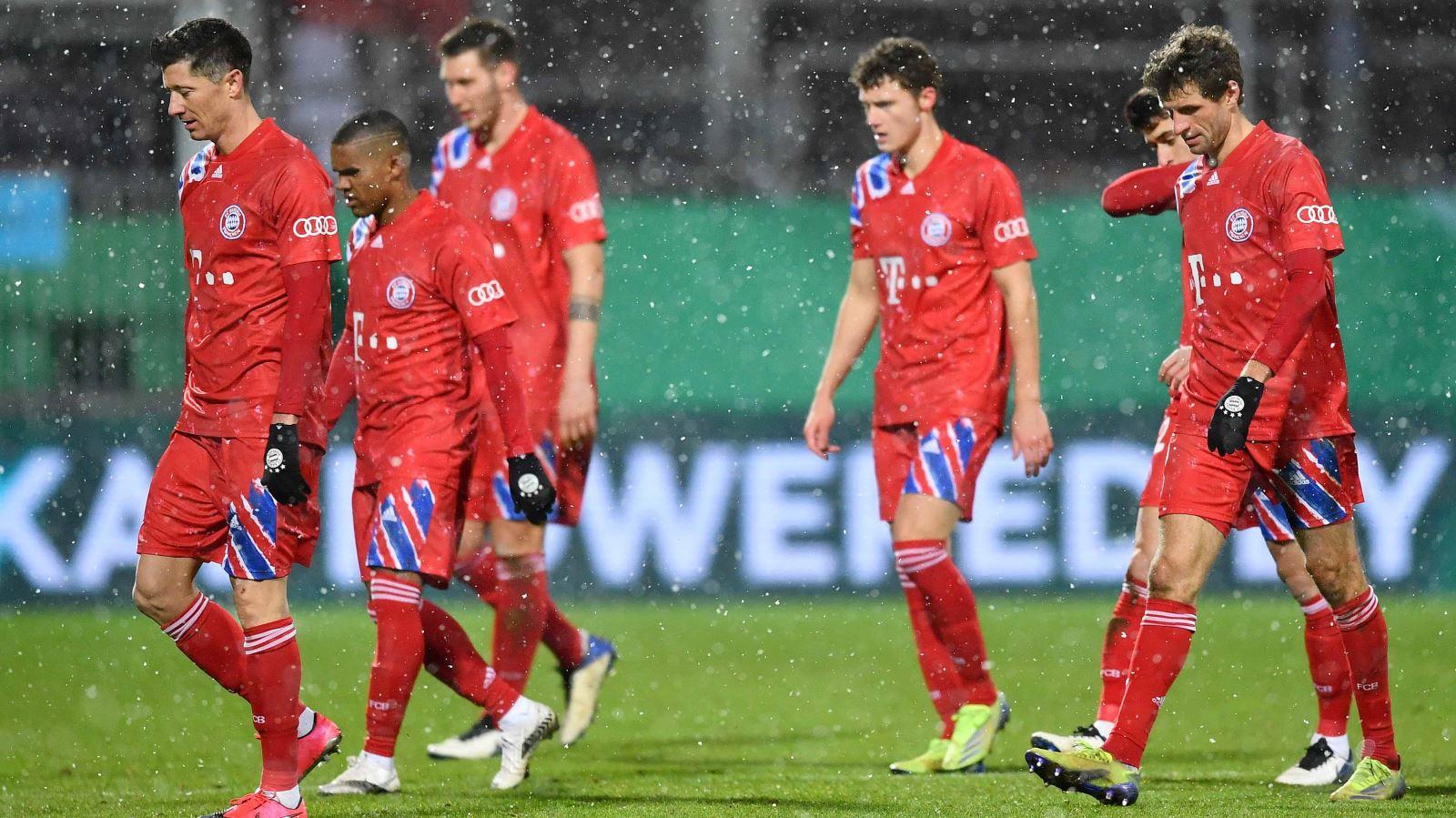 Bayern Munich bị đội hạng nhì loại khỏi cúp Quốc gia Đức