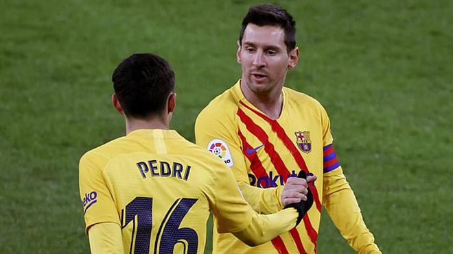 Bilbao 2-3 Barcelona: Messi lập cú đúp, Barca ngược dòng thành công