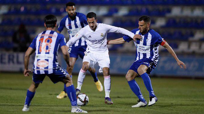 Ket qua bong da. Alcoyano vs Real Madrid. Kết quả Cúp Nhà vua Tây Ban Nha.  Kqbd | TTVH Online