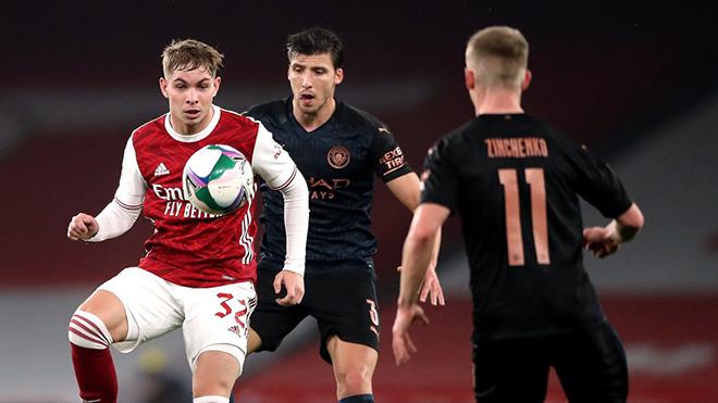 Trực tiếp bóng đá Anh: Arsenal vs Man City (23h30 hôm nay)