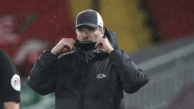 Klopp thừa nhận Liverpool mệt mỏi về tinh thần lẫn thể trạng