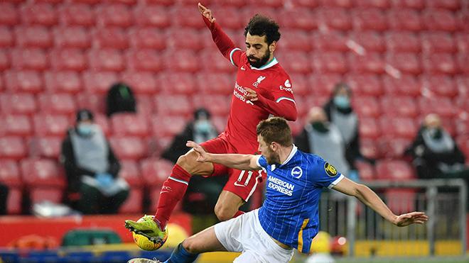 Liverpool 0-1 Brighton: Hàng công bế tắc, Liverpool thua trận sân nhà thứ 2 liên tiếp
