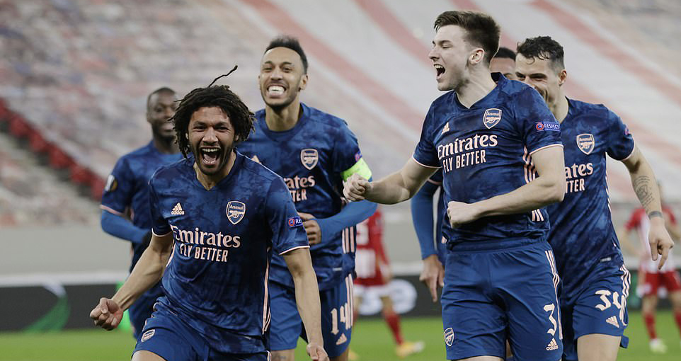 Europa League, kết quả cúp C2, ket qua bong da, MU 1-1 Milan, Olympiacos 1-3 Arsenal, Tottenham, kết quả vòng 1/8 Europa League, kết quả MU đấu với Milan, kqbd