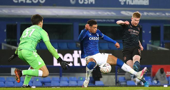 Ket qua bong da, Everton vs Man City, video Everton vs Man City, Kết quả cúp FA, kết quả Everton vs Man City, Guendogan, De Bruyne, Man City lọt vào bán kết cúp FA, kqbd