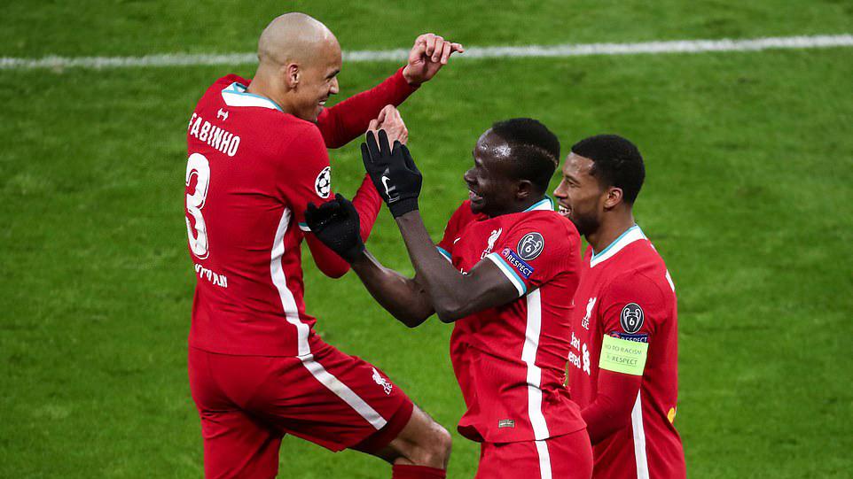Liverpool 2-0 Leipzig (chung cuộc 4-0): Salah và Mane tỏa sáng, Liverpool thẳng tiến vào Tứ kết C1