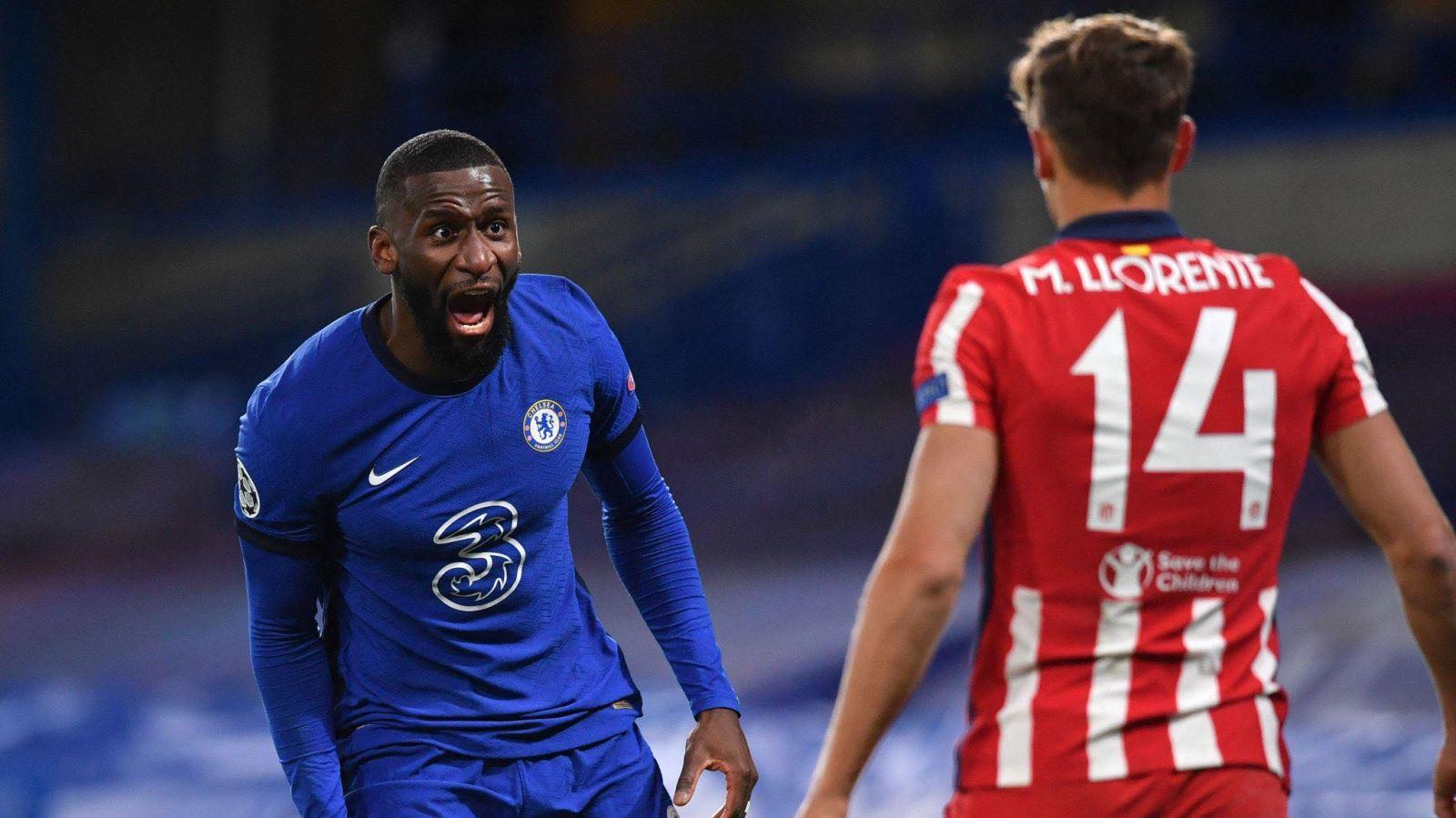 ĐIỂM NHẤN Chelsea 2-0 Atletico: Rudiger thành điểm tựa phòng ngự. Simeone chùn bước