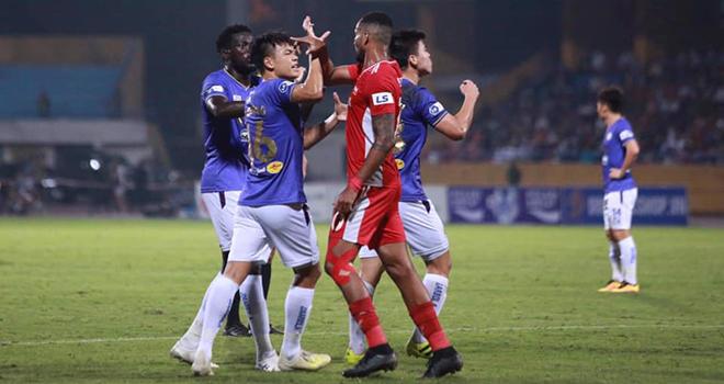 Video bàn thắng Hà Nội 1-0 Viettel, HLV Trương Việt Hoàng, Hà Nội FC, HLV Hoàng Văn Phúc, BXH V-League, kết quả bóng đá V-League, Bình Định vs Viettel