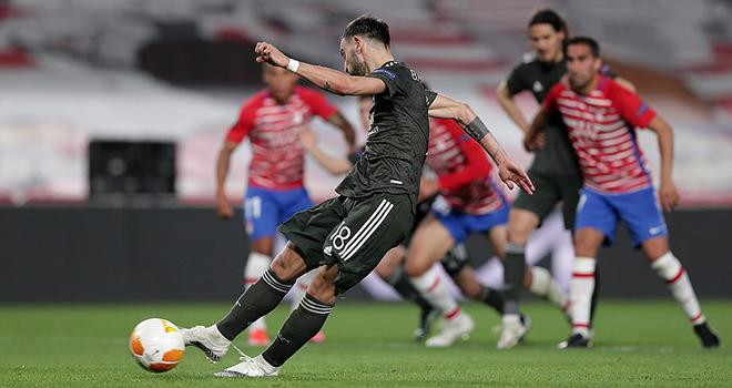 Granada 0-2 MU, Kết quả cúp C2,Arsenal 1-1 Slavia Praha, Kết quả bóng đá lượt đi tứ kết Europa League, Lịch thi đấu lượt về vòng tứ kết Europa League