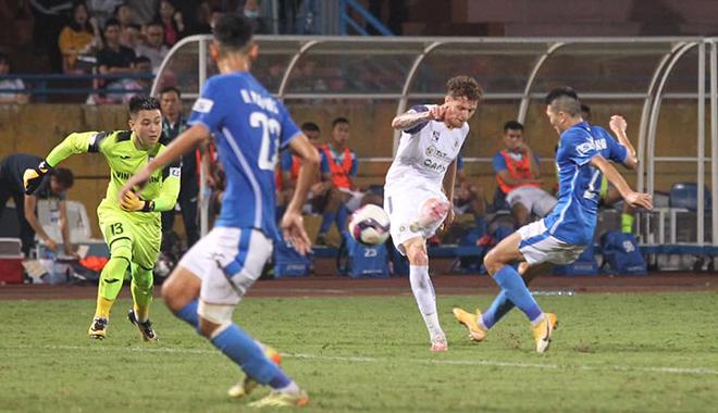 Hà Nội 4-0 Than Quảng Ninh, HLV Hoàng Thọ, V-League, BXH V-League vòng 8 V-League, lịch thi đấu vòng 9 V-League, Quang Hải, Mạc Hồng Quân, Hải Huy