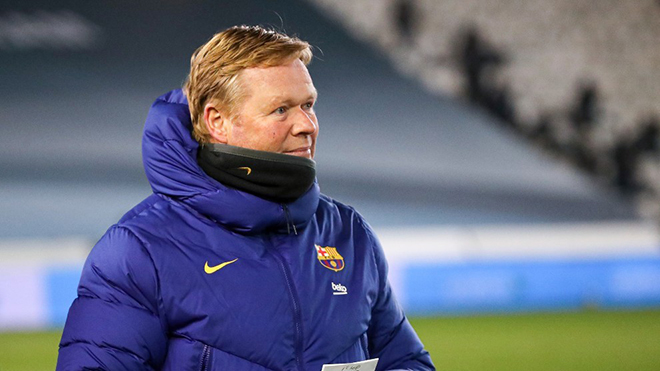 Koeman: 'Barca đang rất tự tin, kết quả trận này không có tính quyết định'