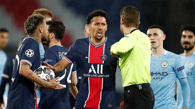 Cầu thủ PSG nổi giận vì De Bruyne không bị đuổi như Gueye