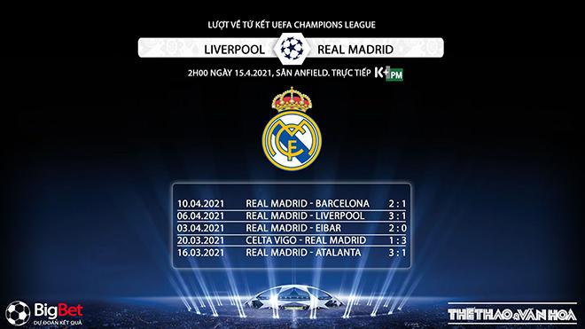 Trực tiếp Liverpool vs Real Madrid. K+, K+PM trực tiếp bóng đá cúp C1 châu Âu. Xem trực tiếp Real Madrid vs Liverpool. Trực tiếp bóng đá cúp C1, tứ kết Champions League