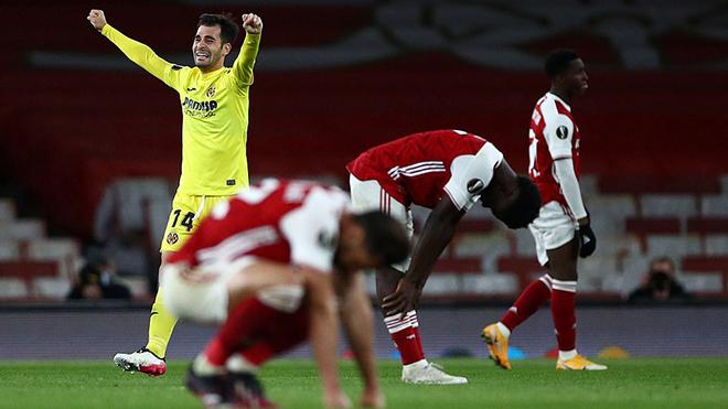 Arsenal 0-0 Villarreal (chung cuộc 1-2): Tấn công nhạt nhòa, Arsenal bỏ lỡ chung kết toàn Anh