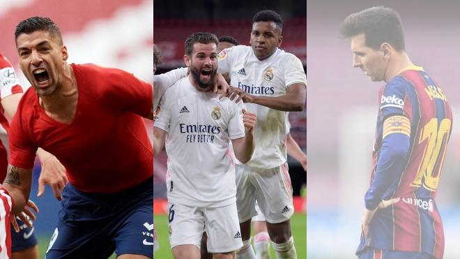 Vòng 37 La Liga: Thành Madrid đua song mã. Barca hết cơ hội