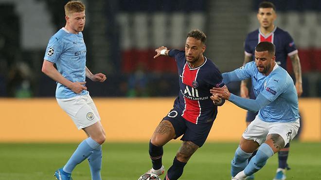 Trực tiếp bóng đá hôm nay: Man City vs PSG, Bán kết cúp C1 (K+, K+PM trực tiếp)