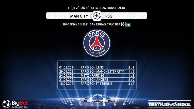 Trực tiếp K+PM, Man City vs PSG, Trực tiếp bóng đá bán kết cúp C1, Trực tiếp Man City, xem trực tiếp Man City đấu với PSG, trực tiếp bóng đá cúp C1, trực tiếp PSG