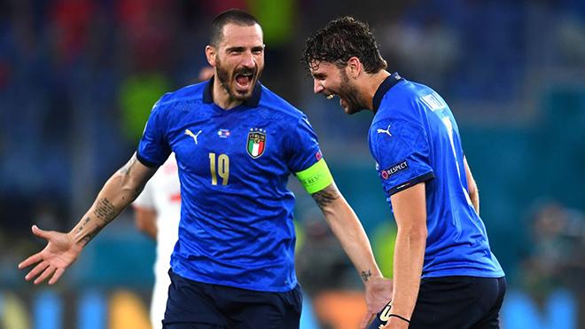 VTV3 VTV6 TRỰC TIẾP bóng đá hôm nay Ý vs Áo, EURO 2021 vòng 1/8