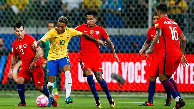 TRỰC TIẾP bóng đá hôm nay Brazil vs Chile. BĐTV trực tiếp Copa America 2021
