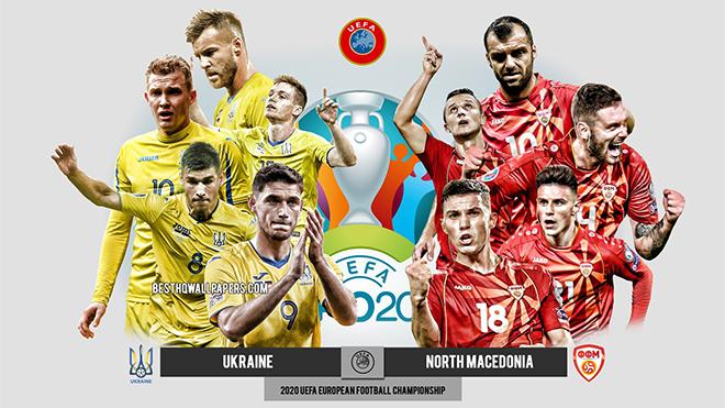 Kèo nhà cáiUkraine vs Bắc Macedonia. Tỷ lệ kèo bóng đá EURO 2021. Trực tiếp VTV6