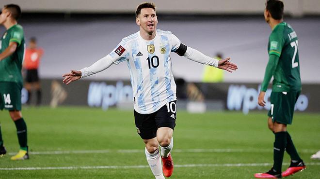 Argentina 3-0 Bolivia: Messi lập hat-trick, phá kỷ lục của Pele
