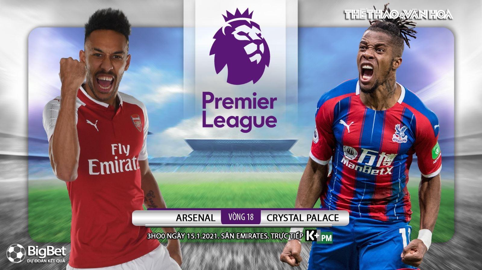 Soi kèo nhà cái Arsenal vs Crystal Palace. Vòng 18 Ngoại hạng Anh