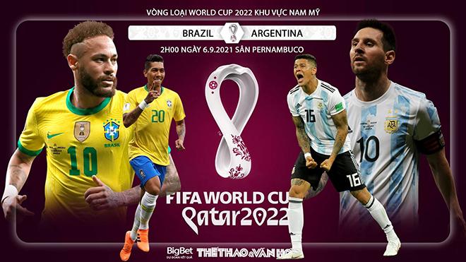 Soi kèo nhà cái Brazil vs Argentina và nhận định bóng đá vòng loại World Cup 2022 (2h00, 6/9)