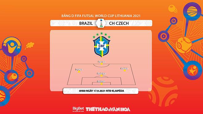 Brazil vs CH Séc, futsal, kèo nhà cái, soi kèo Futsal Brazil vs Séc, nhận định bóng đá, keo nha cai, nhan dinh bong da, futsal Brazil vs Séc, kèo bóng đá, Brazil, Séc