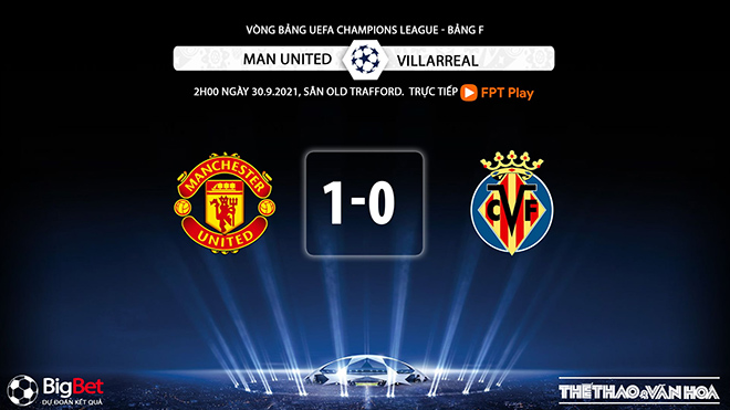 MU vs Villarreal, kèo nhà cái, soi kèo MU vs Villarreal, nhận định bóng đá, MU, Villarreal, keo nha cai, dự đoán bóng đá, Man United, kèo bóng đá, C1, Champions League