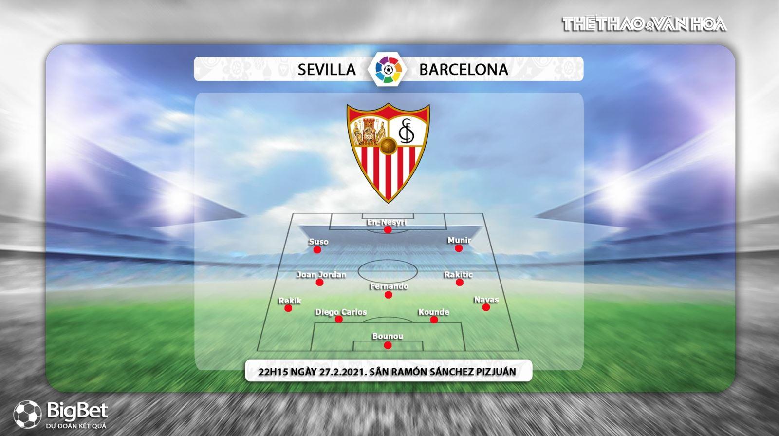 Keo nha cai, Kèo nhà cái,Sevilla vs Barcelona, BĐTV trực tiếp bóng đá Tây Ban Nha, xem trực tiếp bóng đá La Liga, truc tiep bong da Tay Ban Nha, kèo Sevilla vs Barcelona