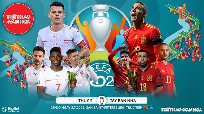Kèo nhà cái. Soi kèo Thụy Sĩ vs Tây Ban Nha. VTV6 VTV3 trực tiếp bóng đá EURO 2021