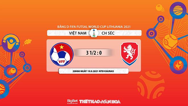 kèo nhà cái, soi kèo Việt Nam vs CH Séc, nhận định bóng đá, keo nha cai, nhan dinh bong da, kèo bóng đá, Việt Nam, CH Séc, tỷ lệ kèo, Futsal World Cup 2021