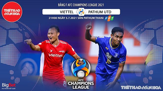 Kèo nhà cái. Soi kèo Viettel vs Pathum. VTC3 trực tiếp bóng đá Cúp C1 châu Á