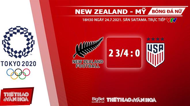 keo nha cai, keo bong da, kèo nhà cái, soi kèo nữ New Zealand vs Mỹ, kèo bóng đá nữ New Zealand vs Mỹ, VTV6, VTV5, trực tiếp bóng đá hôm nay, Olympic 2021, ty le keo, tỷ lệ kèo