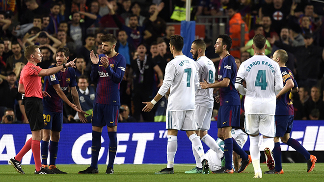 Barcelona và Real Madrid chỉ trích nhau khủng khiếp vì tranh cãi ở Kinh điển