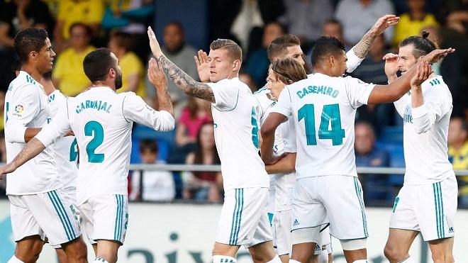 Video bàn thắng và highlights Villarreal 2-2 Real Madrid