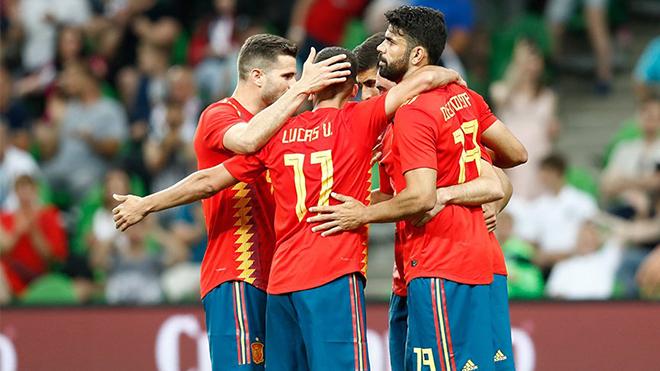 Video clip highlights bàn thắng Tây Ban Nha 1-0 Tunisia: Siêu dự bị toả sáng